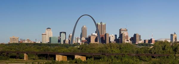 St Louis Skyline Daytime